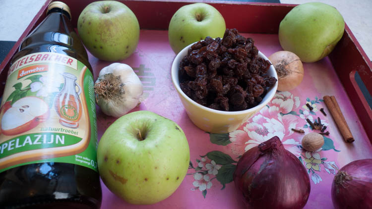 ingredients applechutney